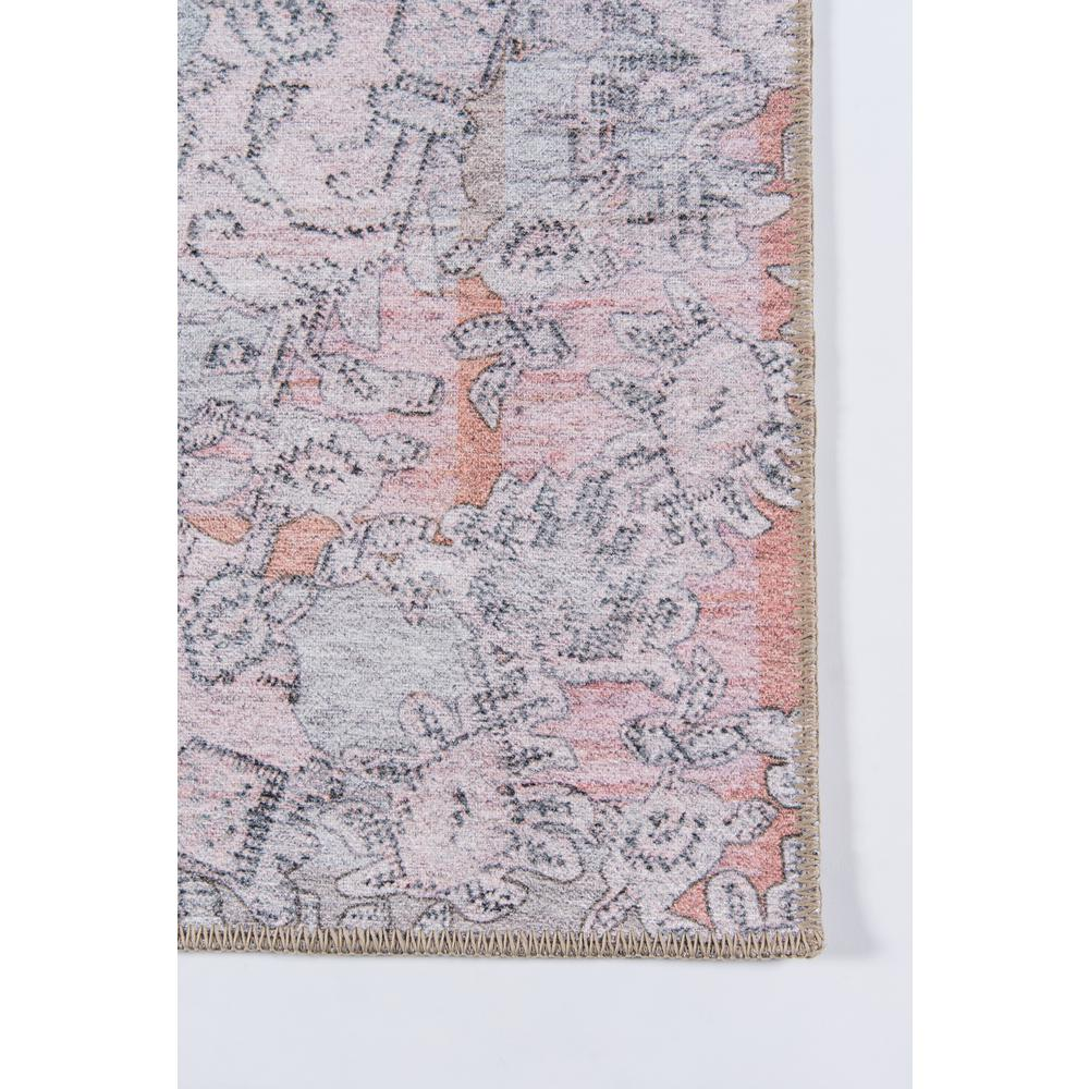 Afshar Area Rug, Pink, 2' X 3'. Picture 3