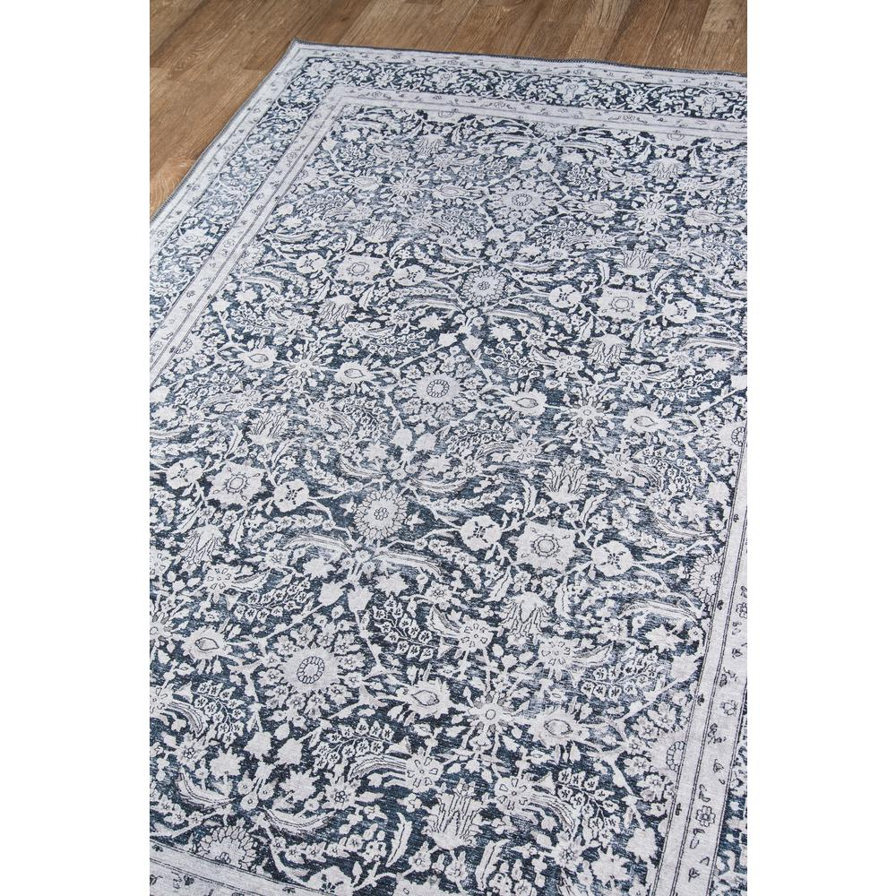 Afshar Area Rug, Charcoal, 2' X 3'. Picture 2