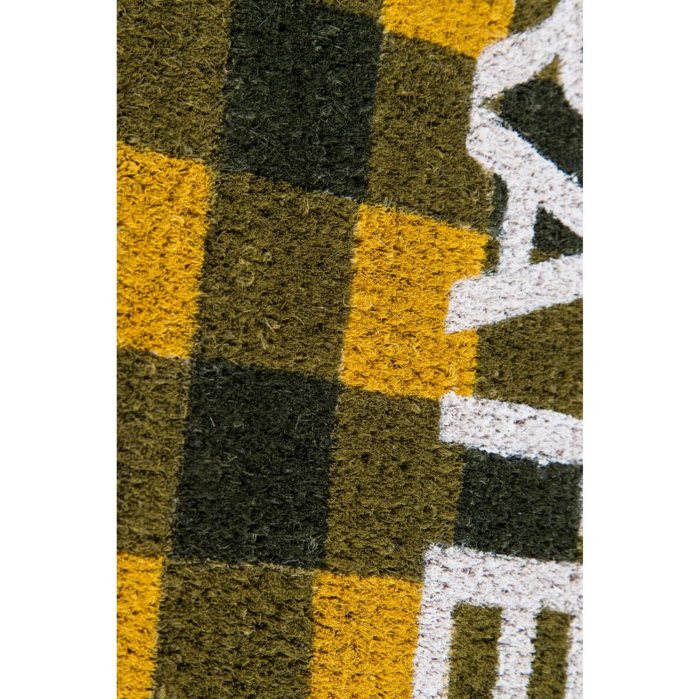 """Aloha Area Rug, Gold, 1'6"""" X 2'6"""". Picture 3"""