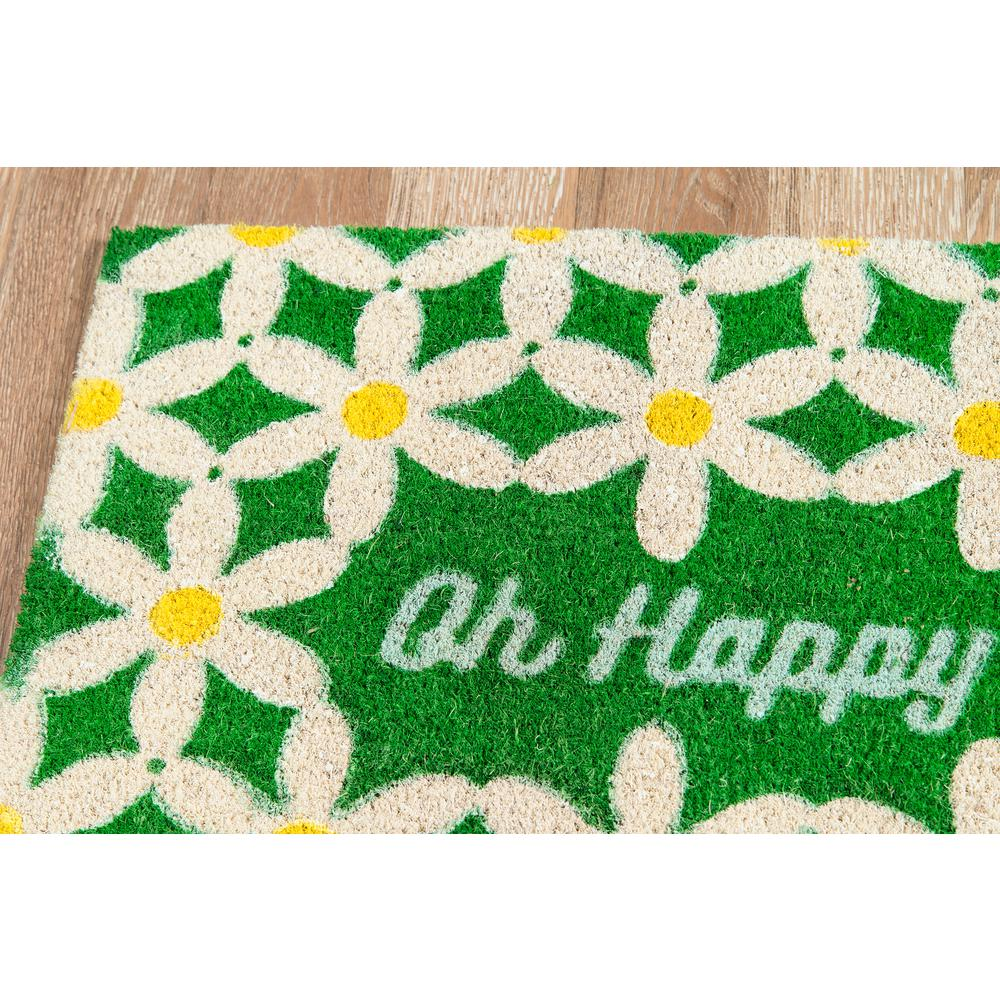 "Aloha Area Rug, Green, 1'6"" X 2'6"". Picture 2"