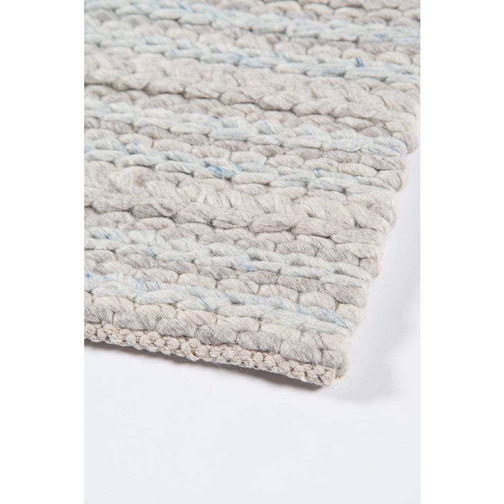 Andes Area Rug, Light Grey, 2' X 3'. Picture 5