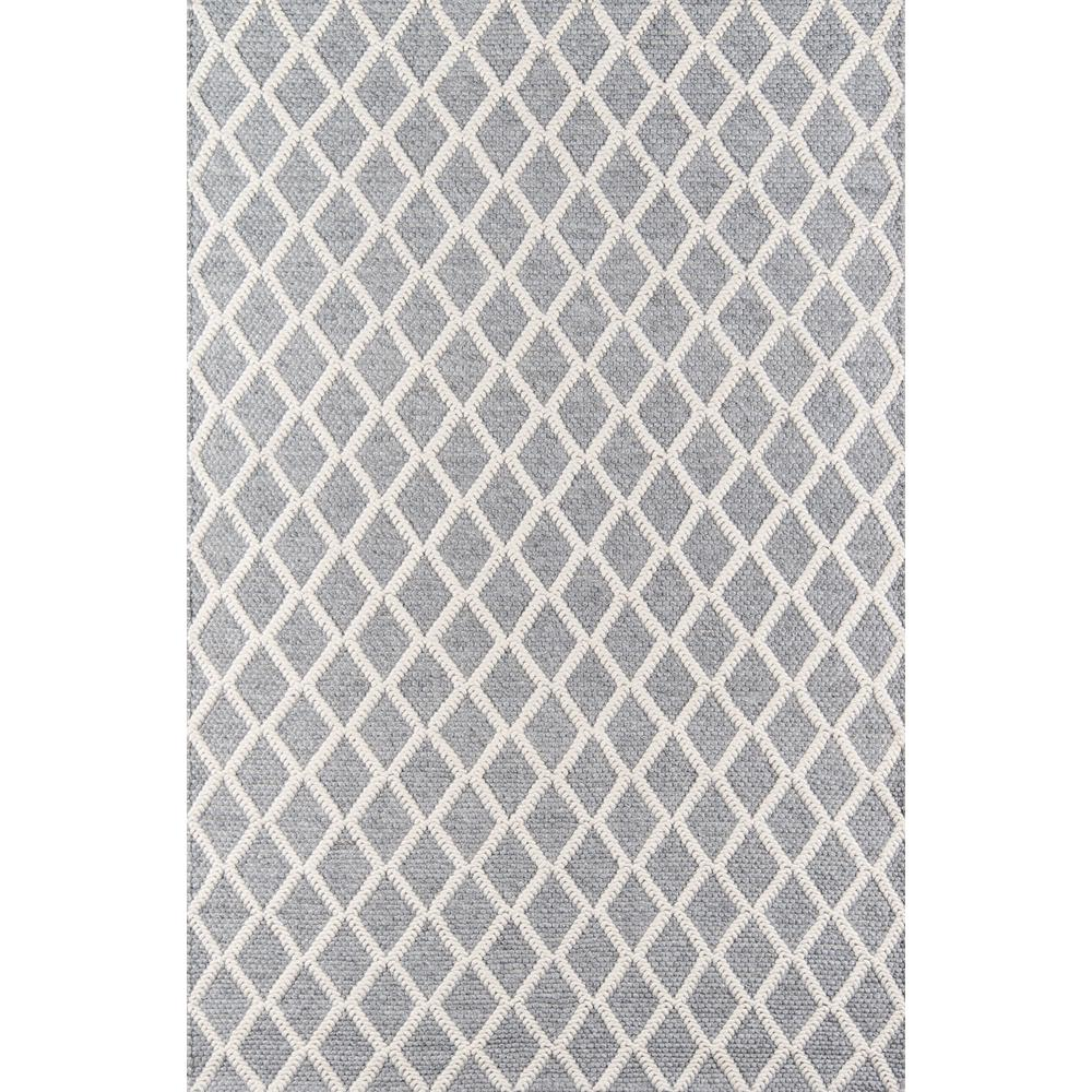 Andes Area Rug, Grey, 2' X 3'. Picture 1