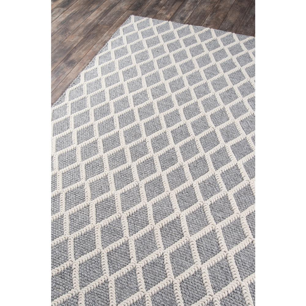 Andes Area Rug, Grey, 2' X 3'. Picture 2