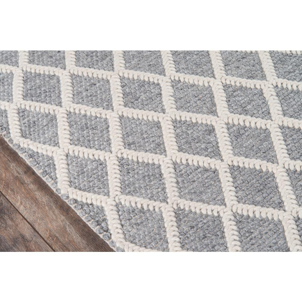 Andes Area Rug, Grey, 2' X 3'. Picture 3