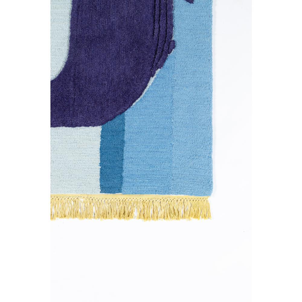 Atticus Area Rug, Blue, 3' X 5'. Picture 2
