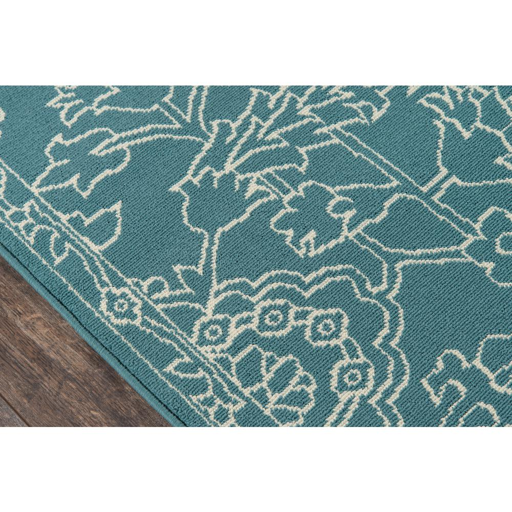 """Baja Area Rug, Teal, 1'8"""" X 3'7"""". Picture 3"""