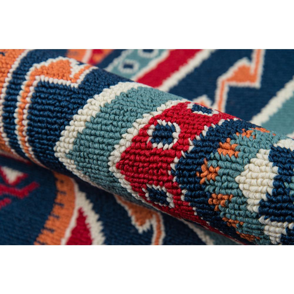 """Baja Area Rug, Red, 1'8"""" X 3'7"""". Picture 4"""