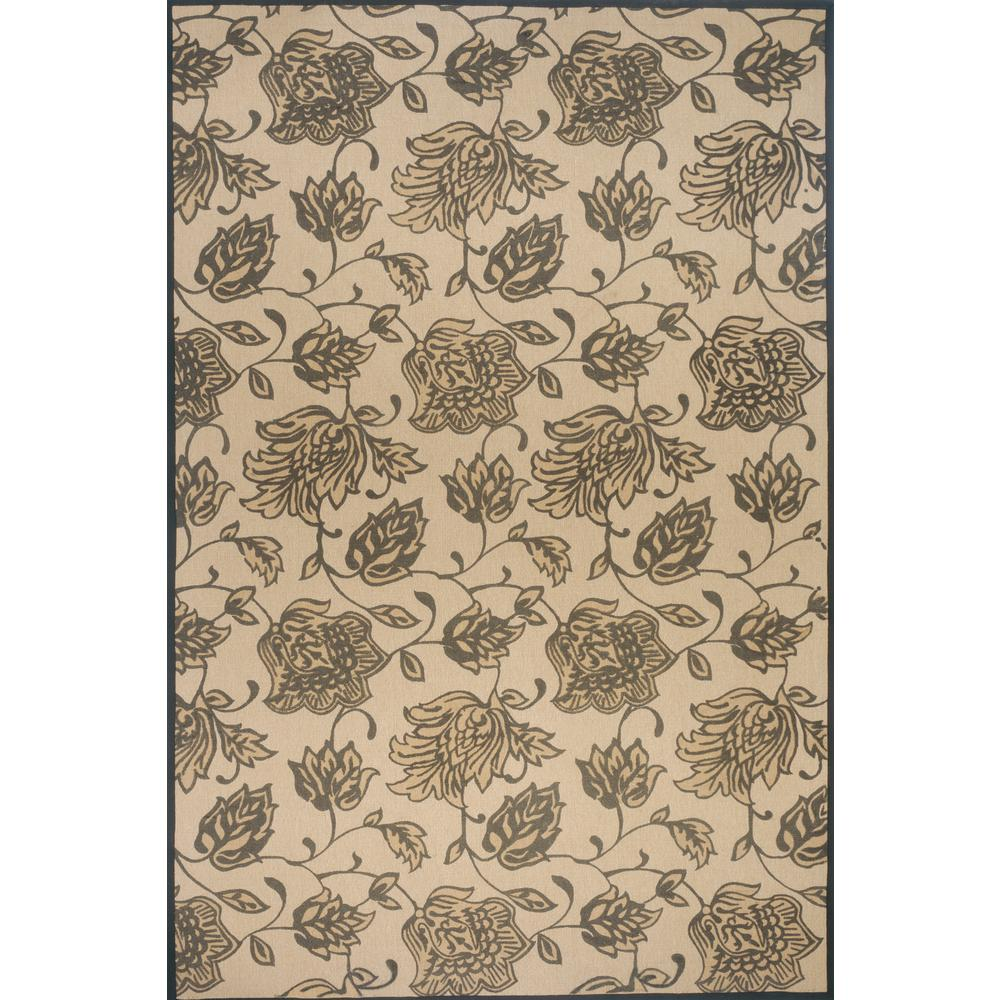 """Bali Area Rug, Charcoal, 8'6"""" X 11'6"""". Picture 1"""