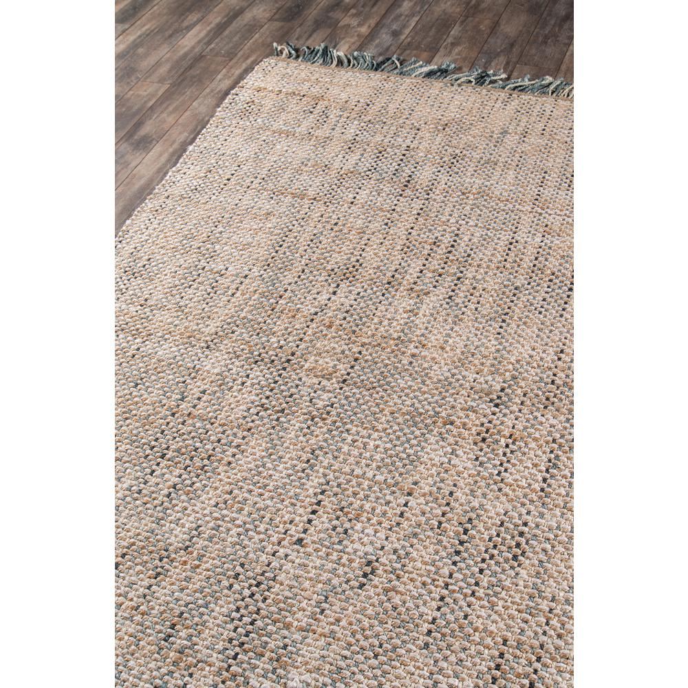 """Bali Area Rug, Blue, 2'3"""" X 7'6"""" Runner. Picture 2"""