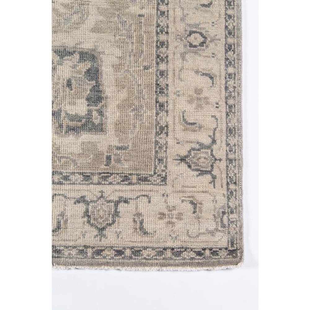 Banaras Area Rug, Grey, 2' X 3'. Picture 3