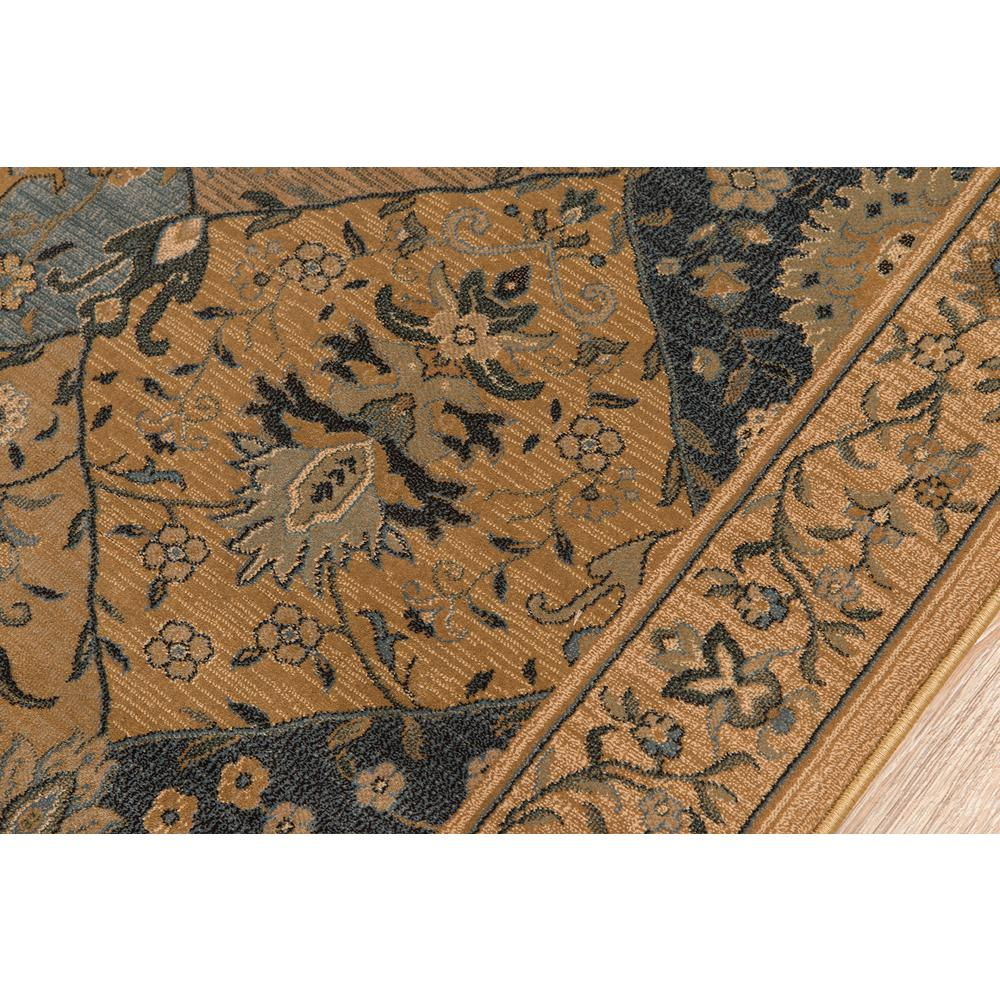 """Belmont Area Rug, Blue, 5'3"""" X 7'6"""". Picture 3"""