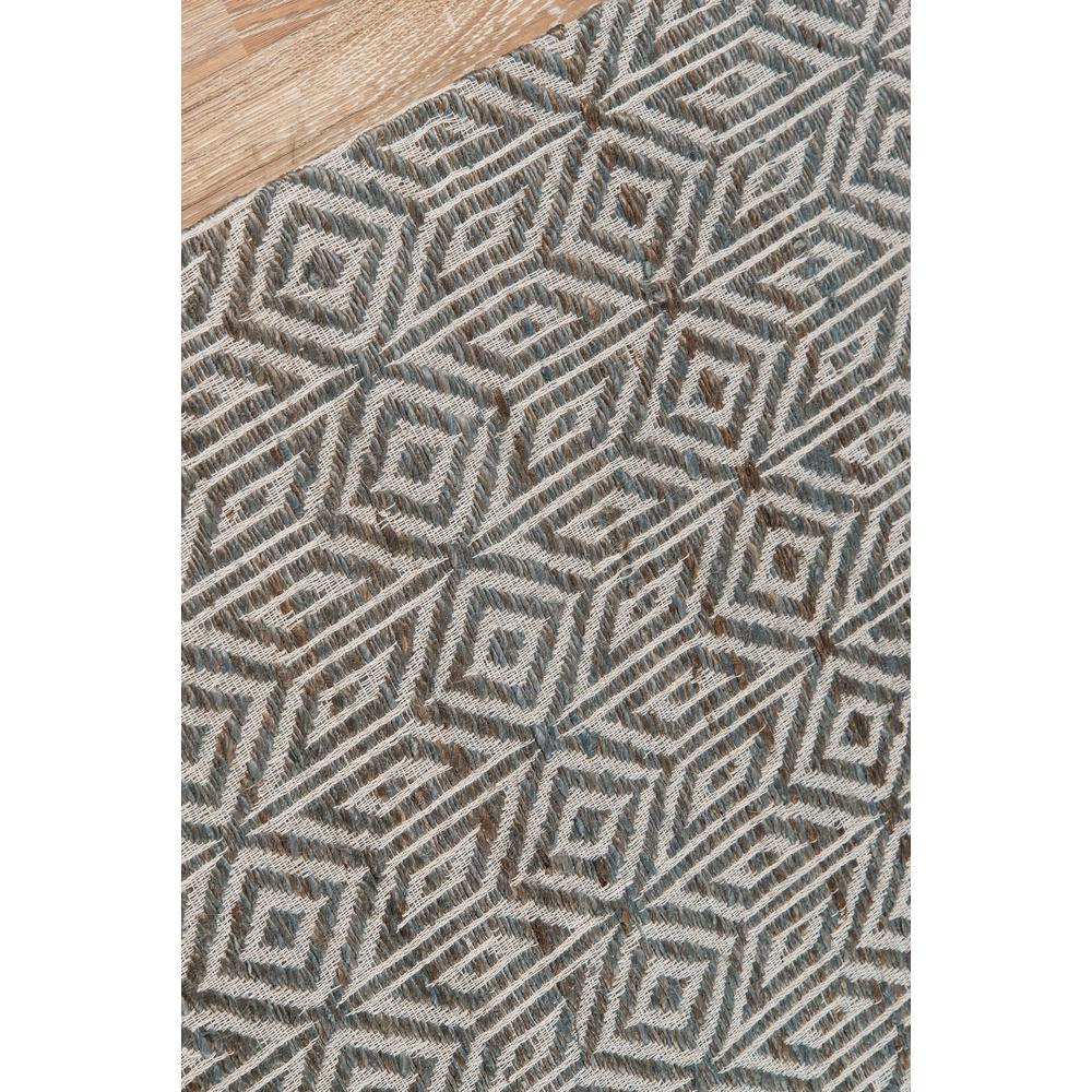 Bengal Area Rug, Grey, 2' X 3'. Picture 3