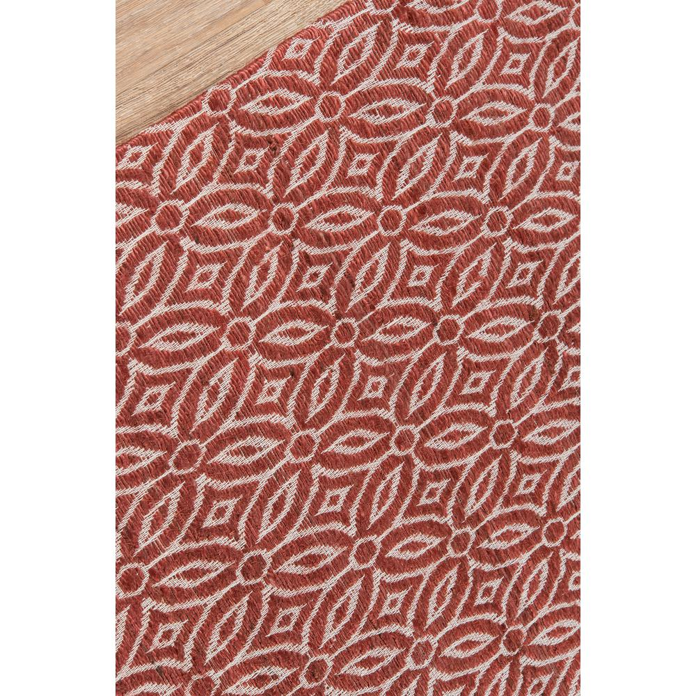 Bengal Area Rug, Red, 2' X 3'. Picture 3