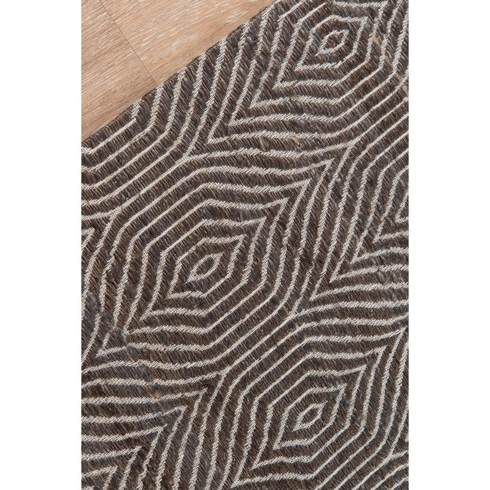 Bengal Area Rug, Charcoal, 2' X 3'. Picture 3