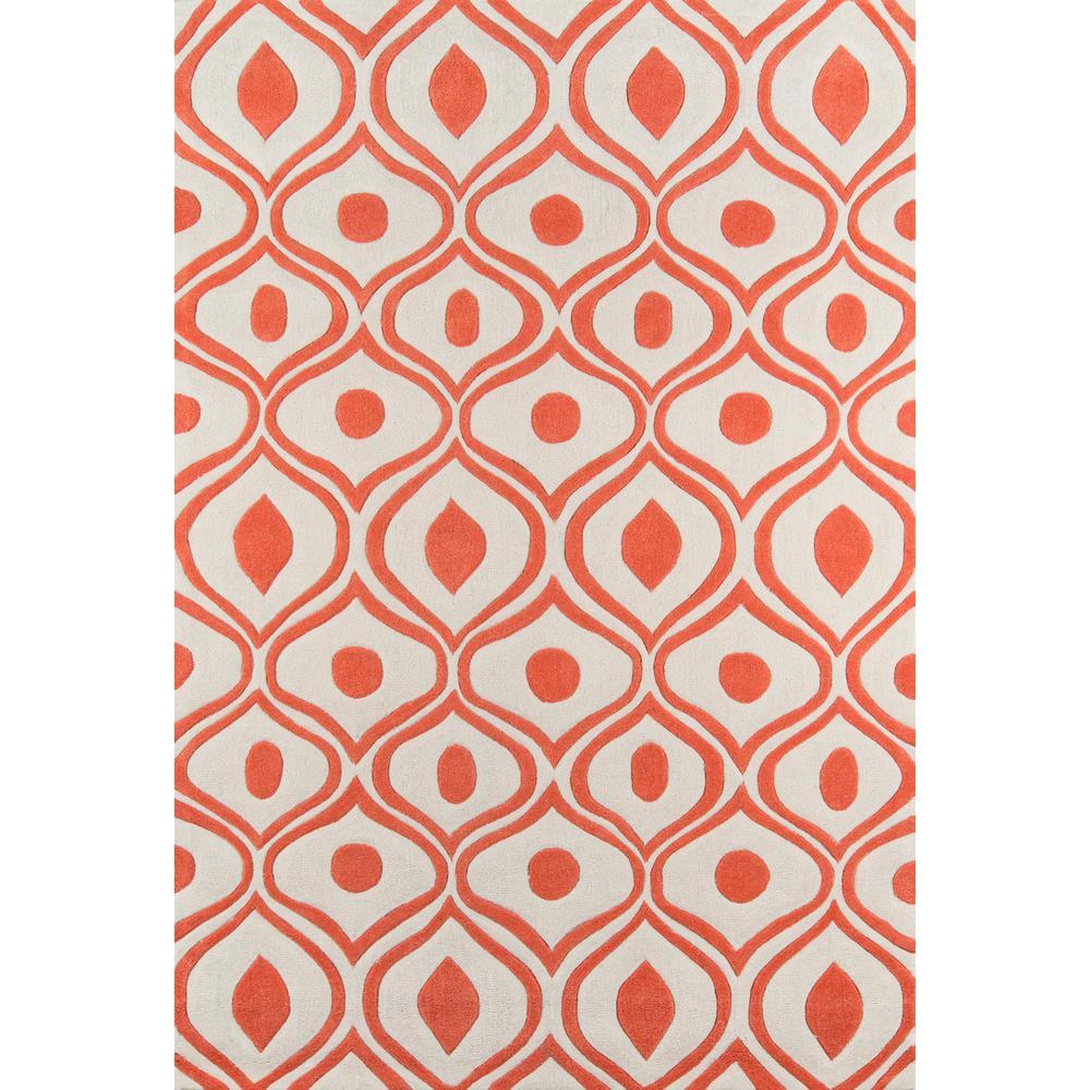 "Bliss Area Rug, Orange, 3'6"" X 5'6"". Picture 1"