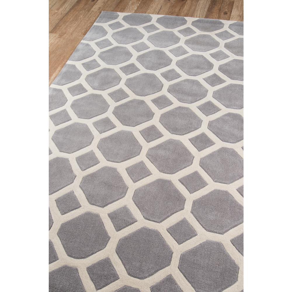 Bliss Area Rug, Grey, 2' X 3'. Picture 2