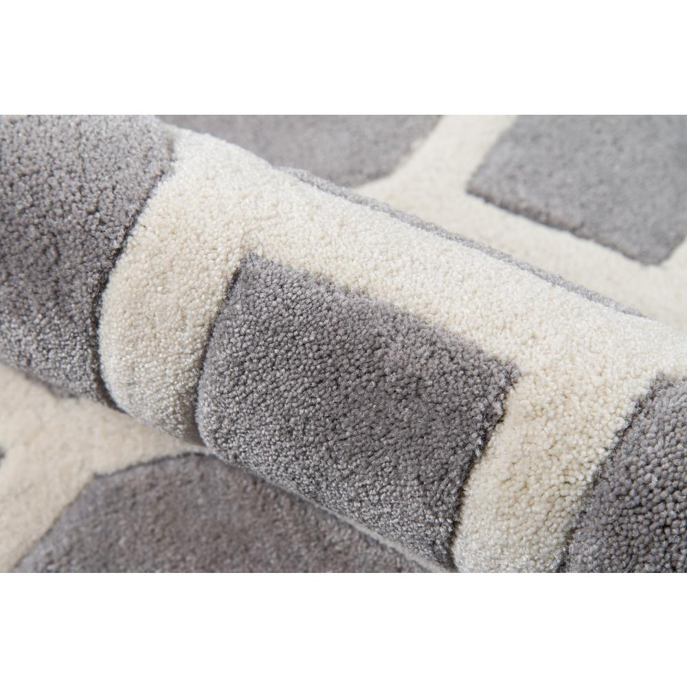Bliss Area Rug, Grey, 2' X 3'. Picture 4