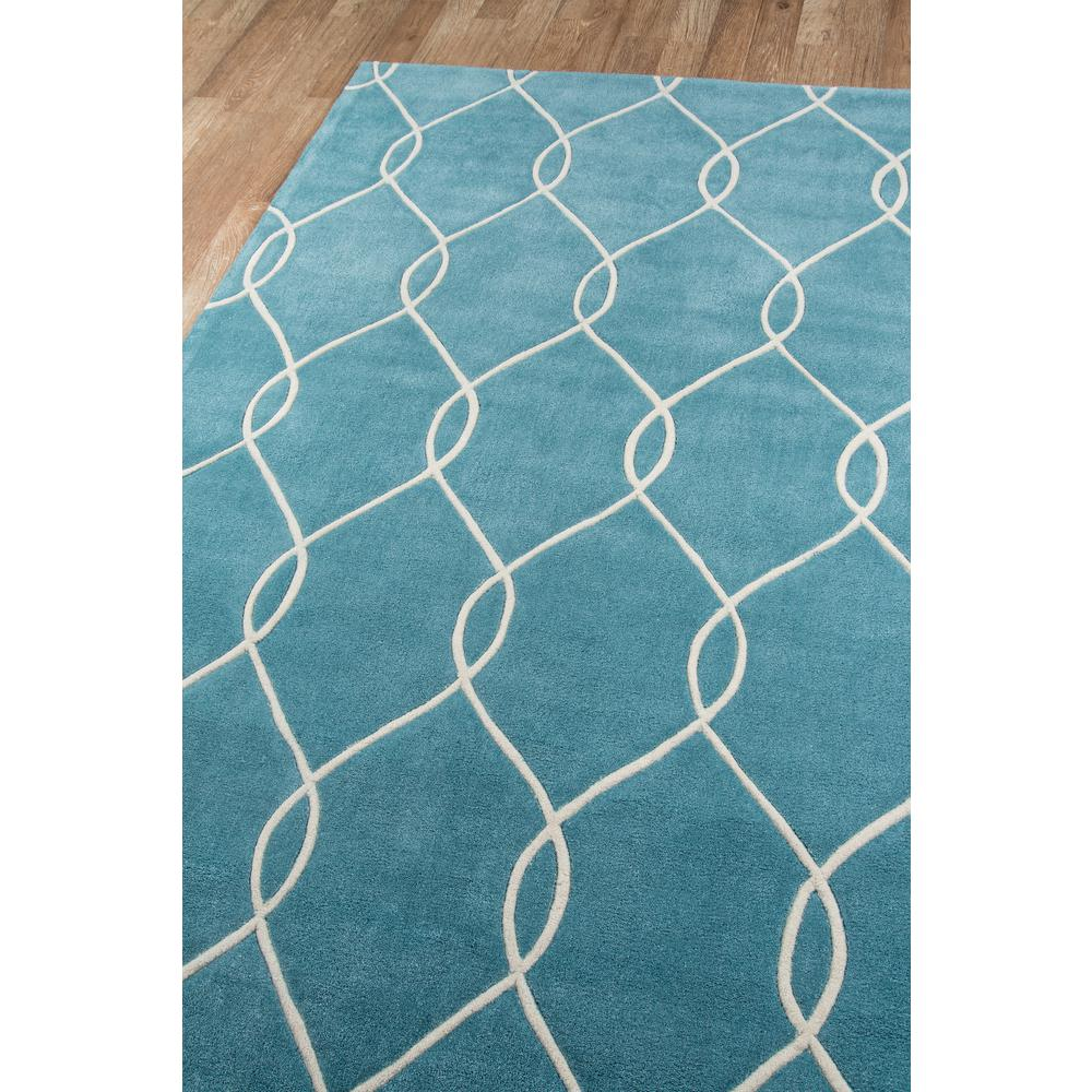 Bliss Area Rug, Teal, 2' X 3'. Picture 2