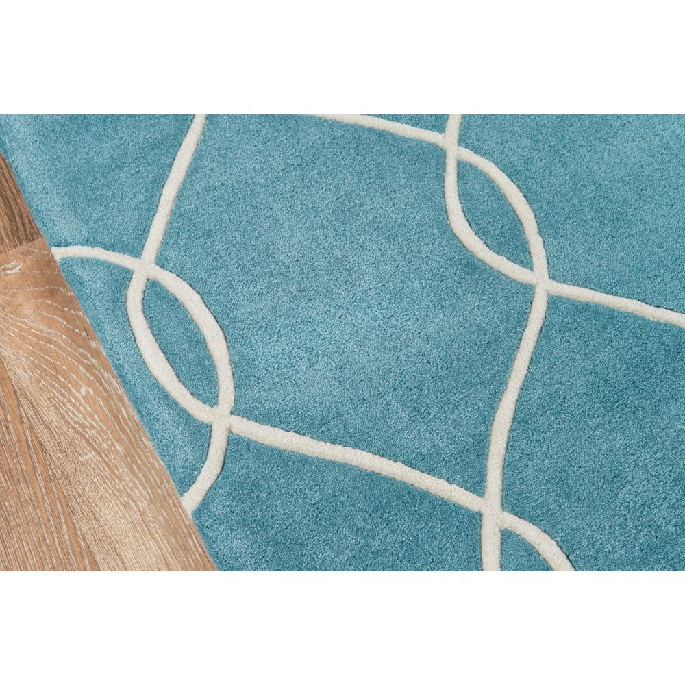Bliss Area Rug, Teal, 2' X 3'. Picture 3