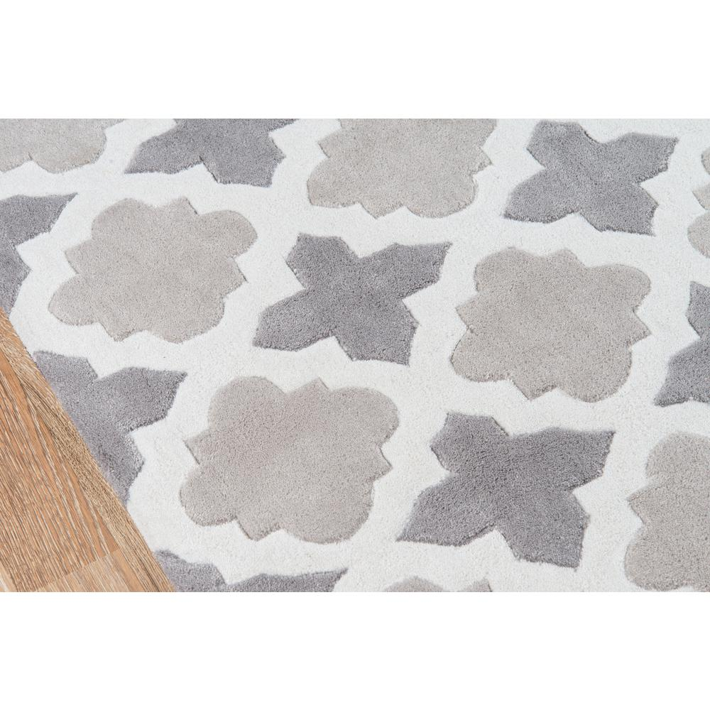 Bliss Area Rug, Grey, 2' X 3'. Picture 3