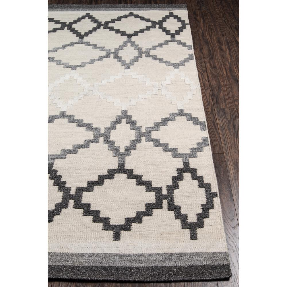 Boho Area Rug, Grey, 2' X 3'. Picture 2