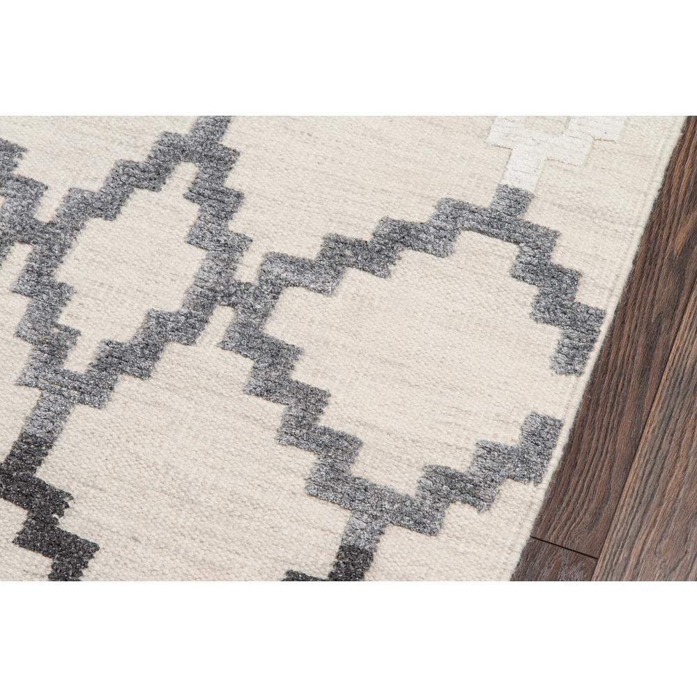 Boho Area Rug, Grey, 2' X 3'. Picture 3