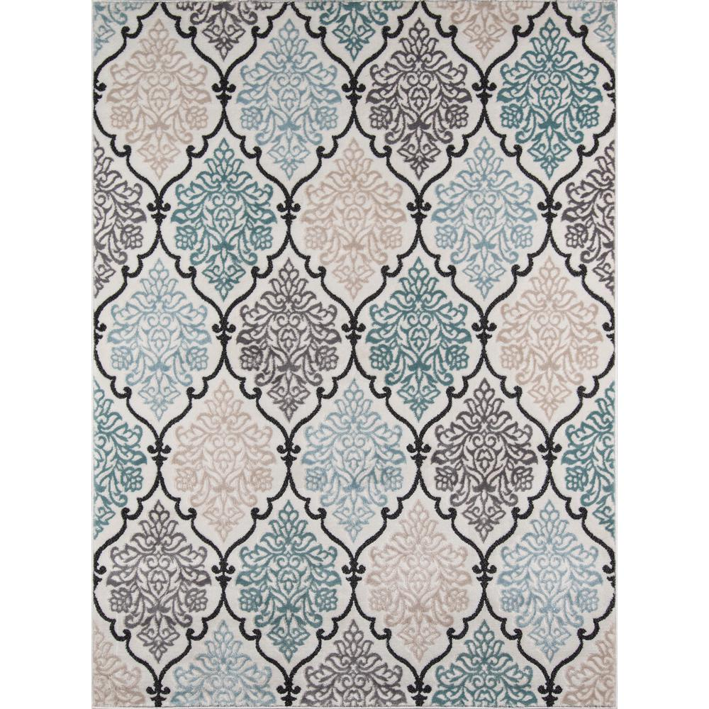 Brooklyn Heights Area Rug, Multi, 2' X 3'. Picture 1
