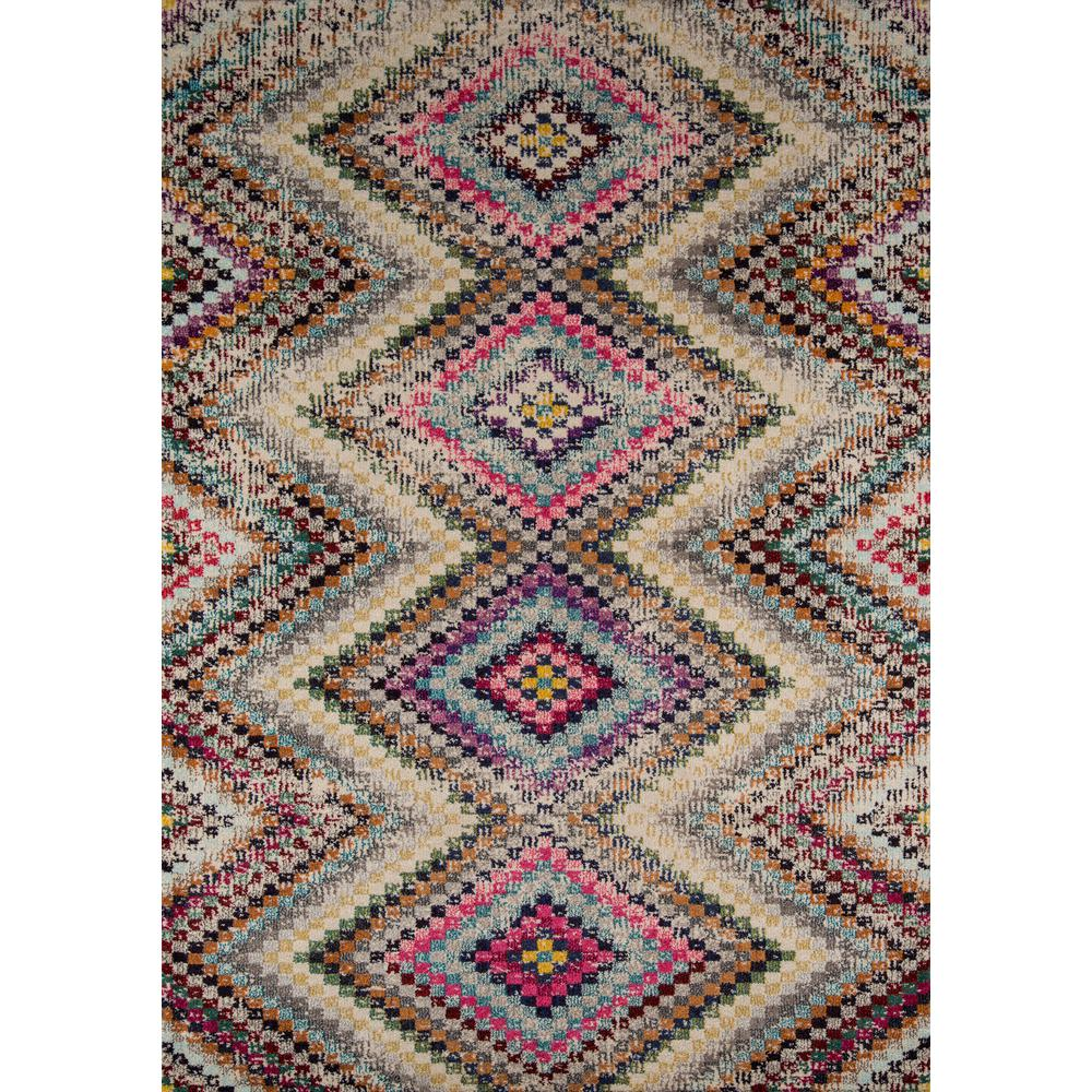 Casa Area Rug, Multi, 2' X 3'. The main picture.