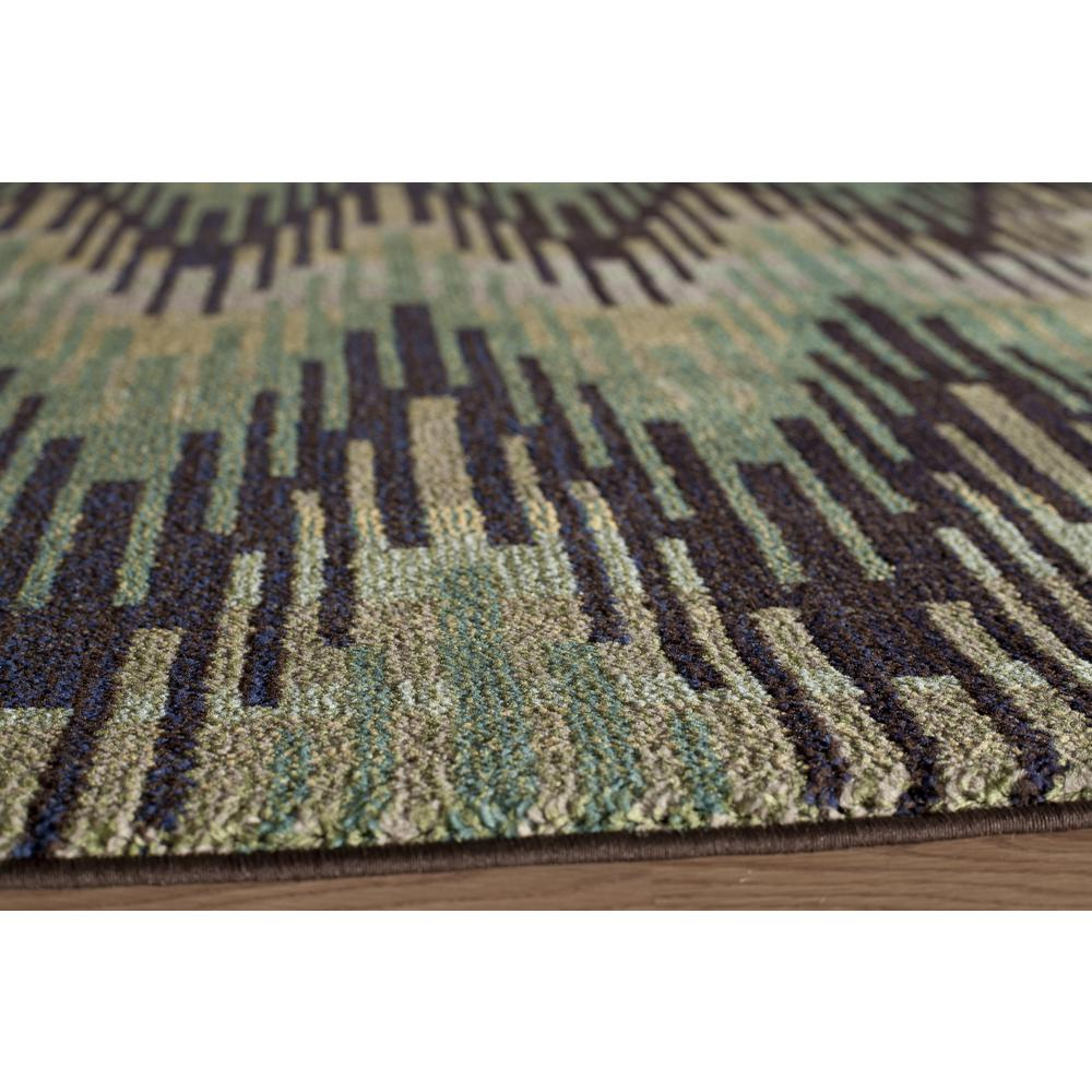 Casa Area Rug, Green, 2' X 3'. Picture 2