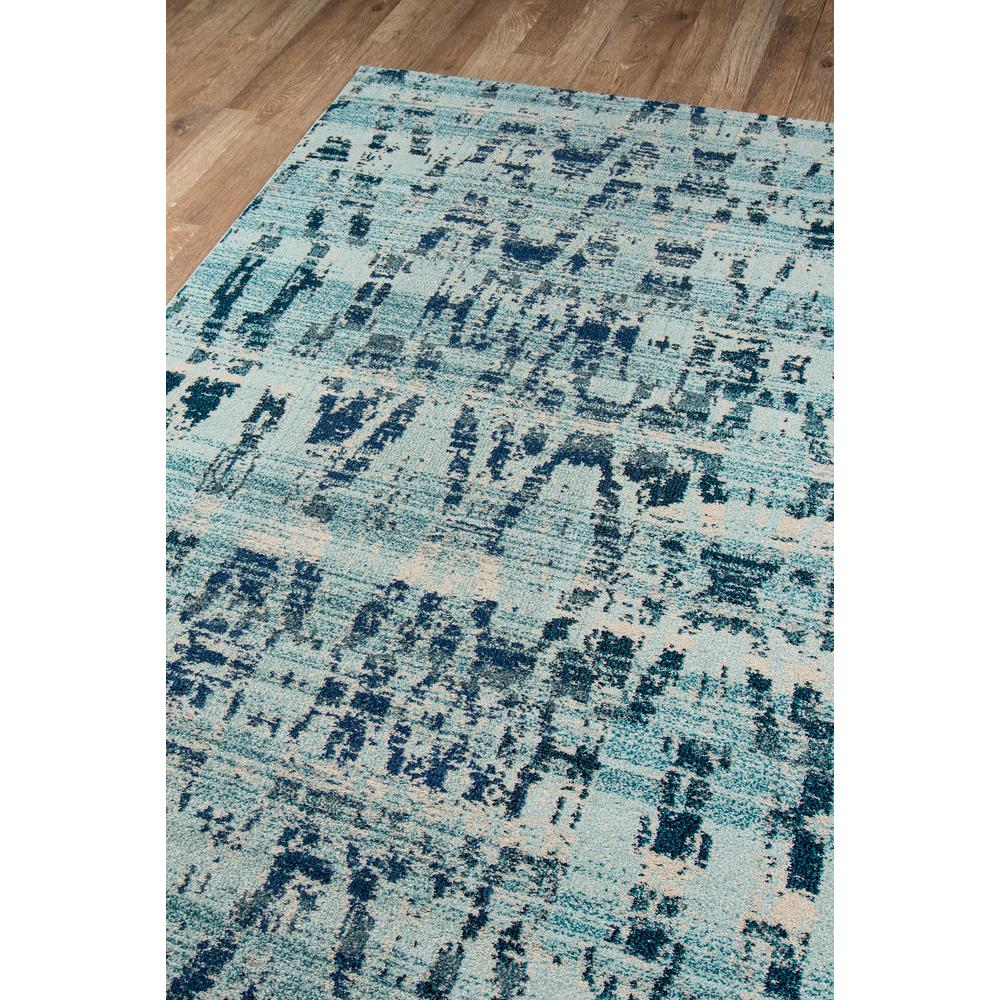 Casa Area Rug, Ocean Blue, 2' X 3'. Picture 2