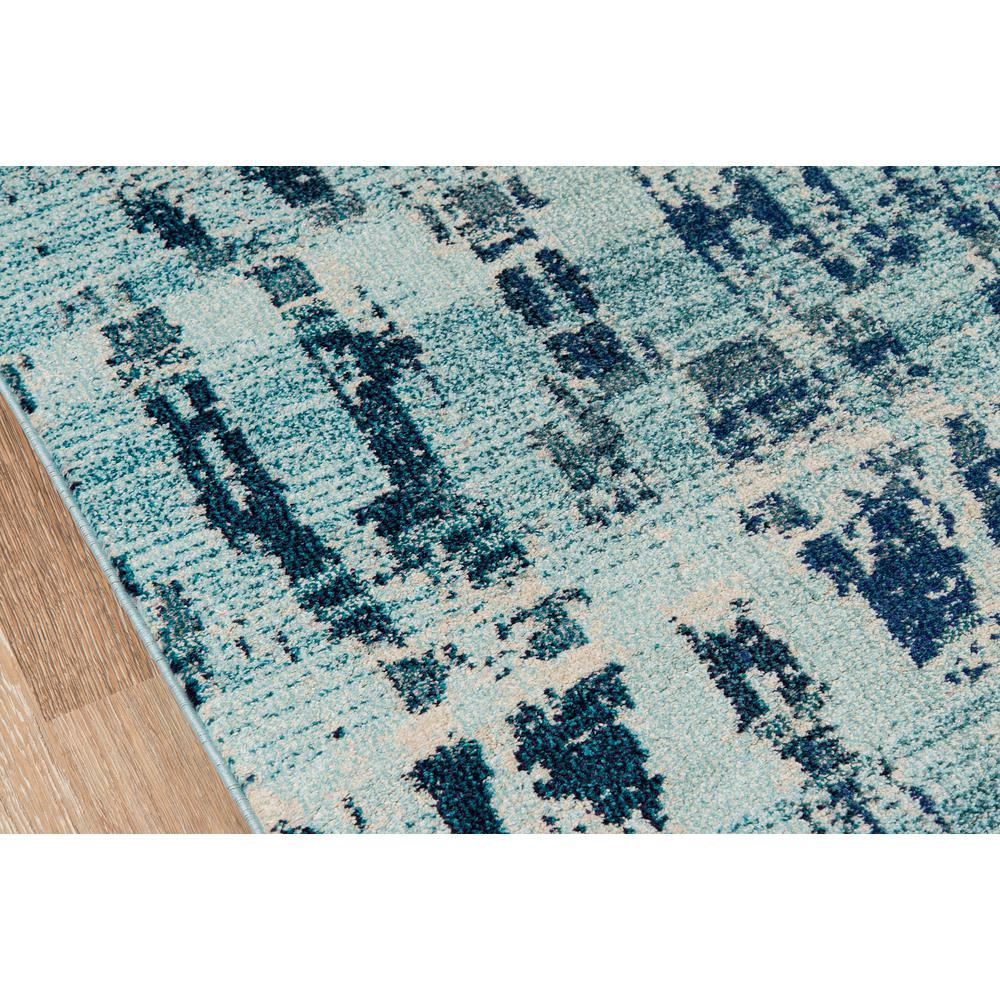 Casa Area Rug, Ocean Blue, 2' X 3'. Picture 3