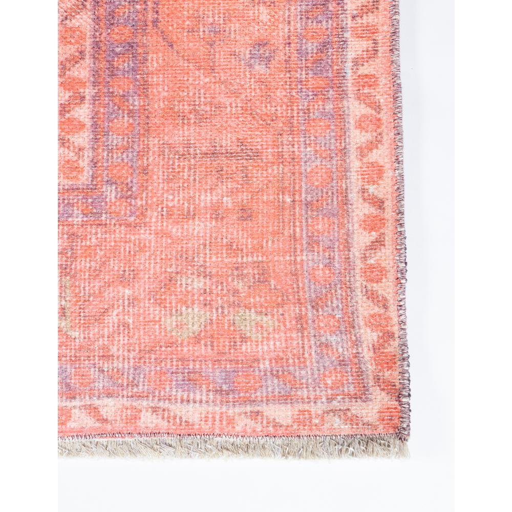 Chandler Area Rug, Coral, 2' X 3'. Picture 2