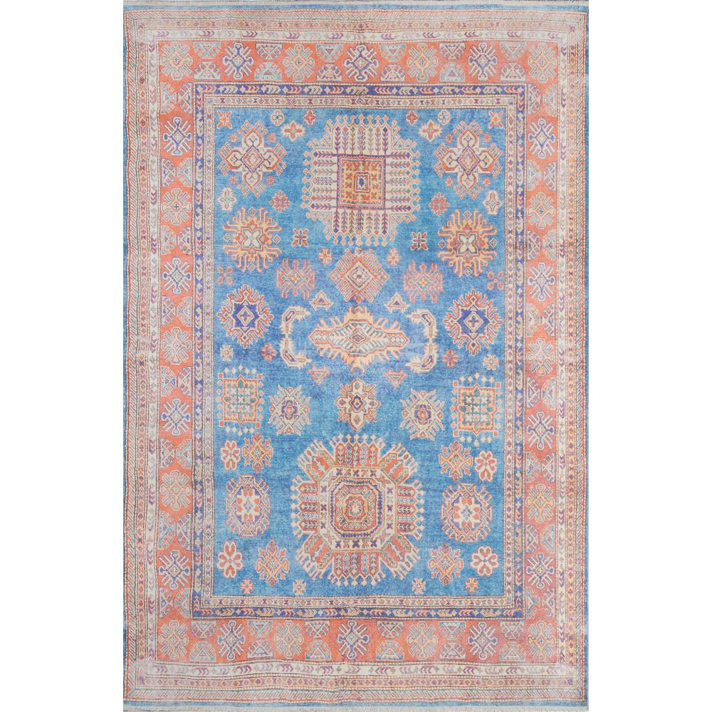 Chandler Area Rug, Blue, 2' X 3'. Picture 1
