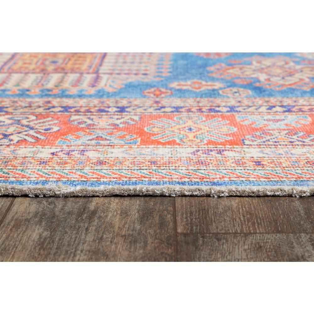 Chandler Area Rug, Blue, 2' X 3'. Picture 3