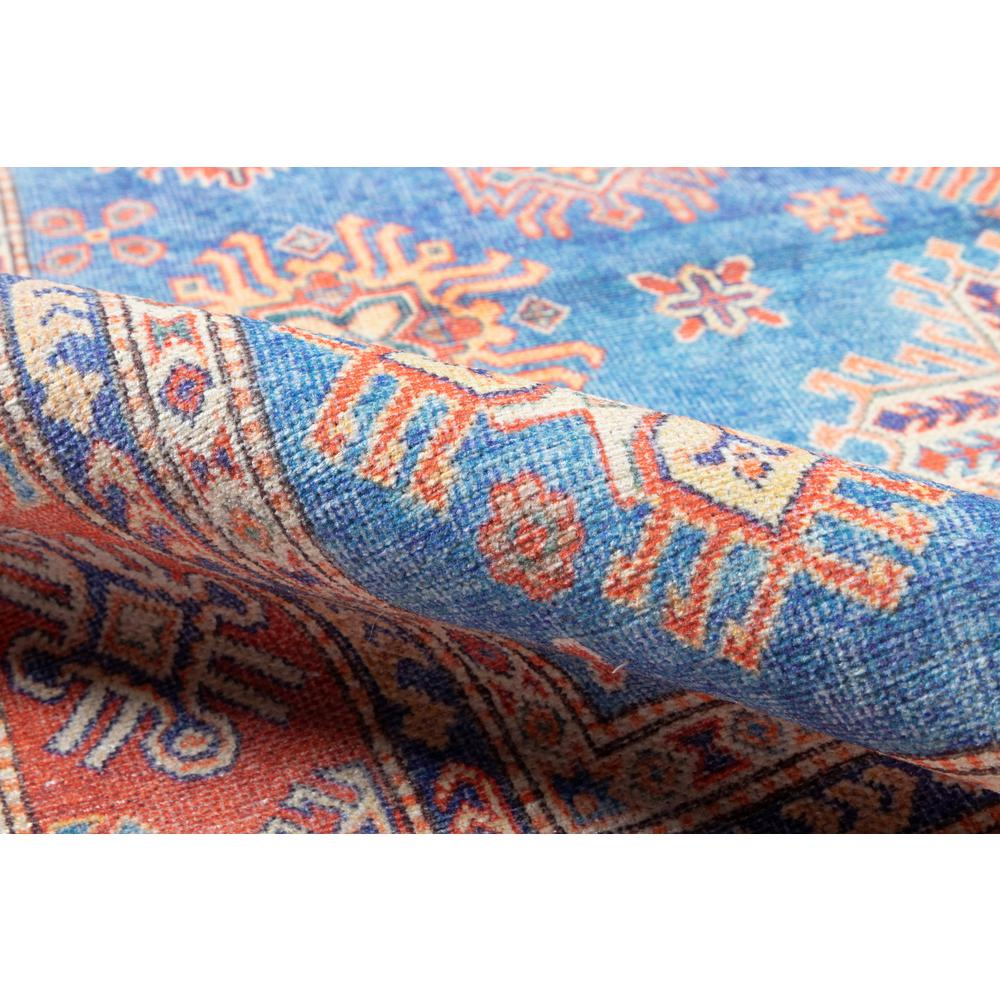 Chandler Area Rug, Blue, 2' X 3'. Picture 4