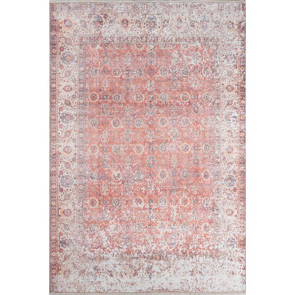 Chandler Area Rug, Red, 2' X 3'. Picture 1