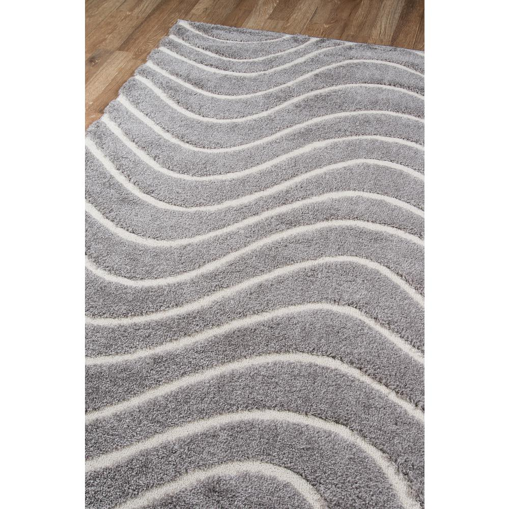 Charlotte Area Rug, Grey, 2' X 3'. Picture 2