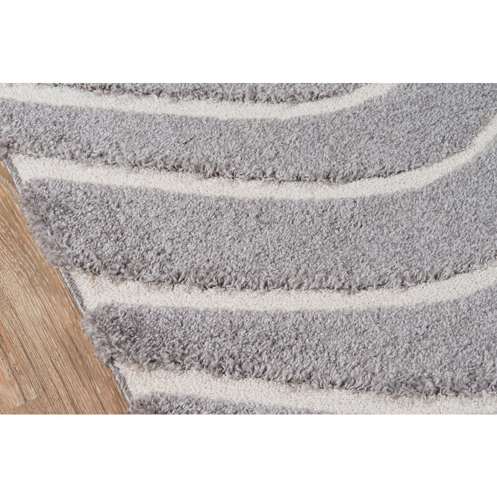 Charlotte Area Rug, Grey, 2' X 3'. Picture 3