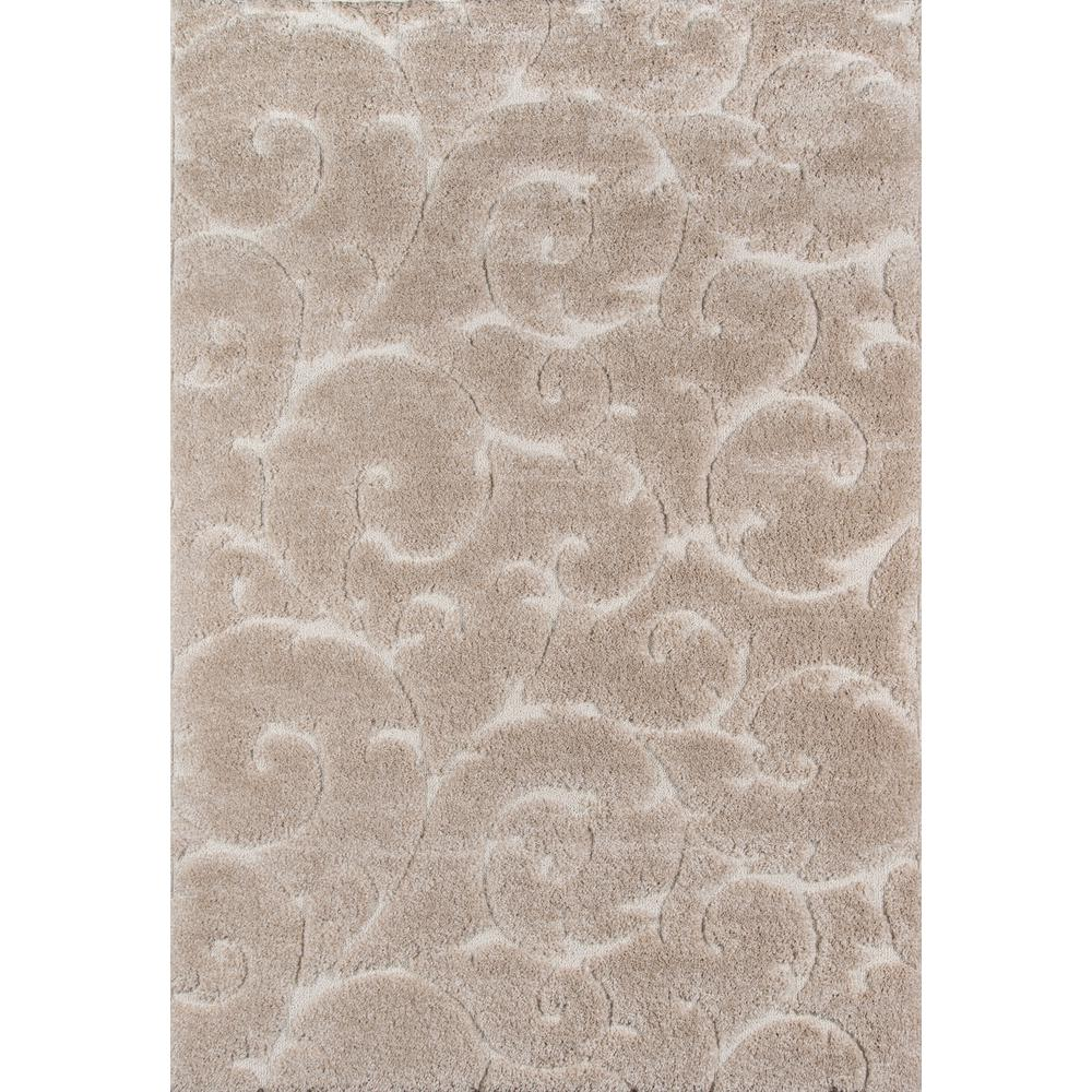 Charlotte Area Rug, Beige, 2' X 3'. The main picture.