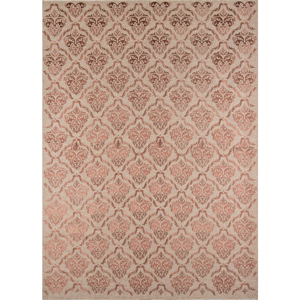 "Cielo Area Rug, Rose, 2'3"" X 8' Runner. Picture 1"