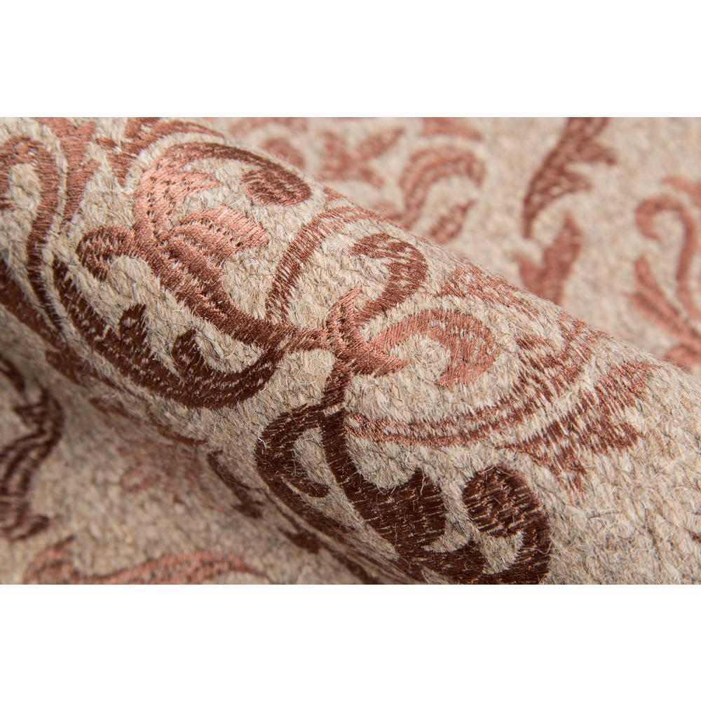 "Cielo Area Rug, Rose, 2'3"" X 8' Runner. Picture 4"