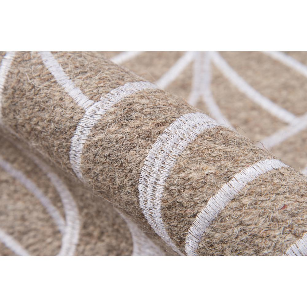 "Cielo Area Rug, Neutral, 2'3"" X 8' Runner. Picture 4"