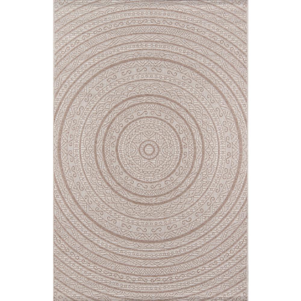 Como Area Rug, Tan, 2' X 3'. Picture 1