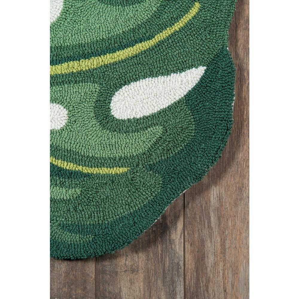 """Cucina Area Rug, Green, 3' X 4'6"""". Picture 2"""