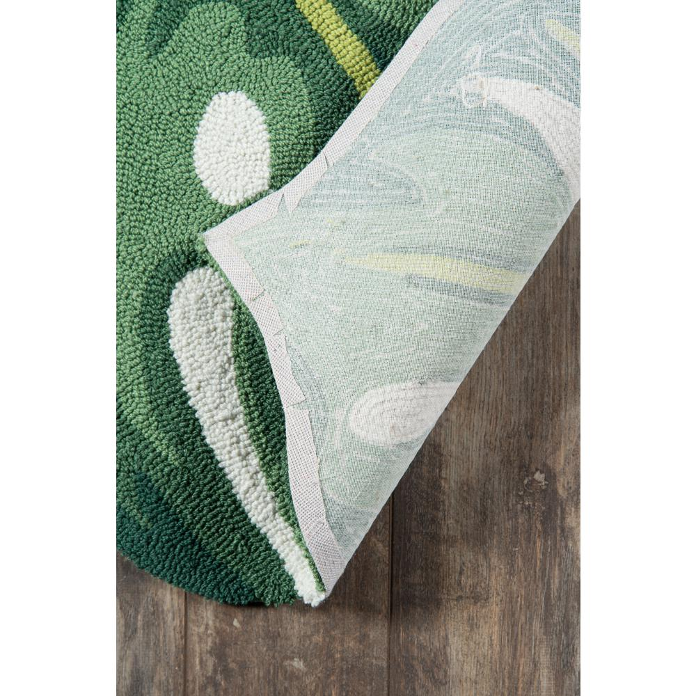 """Cucina Area Rug, Green, 3' X 4'6"""". Picture 3"""