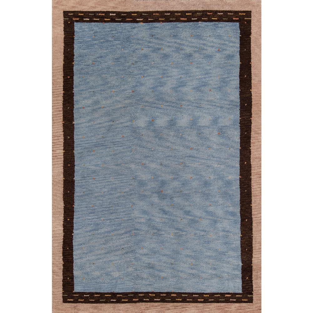 Desert Gabbeh Area Rug, Slate, 2' X 3'. The main picture.