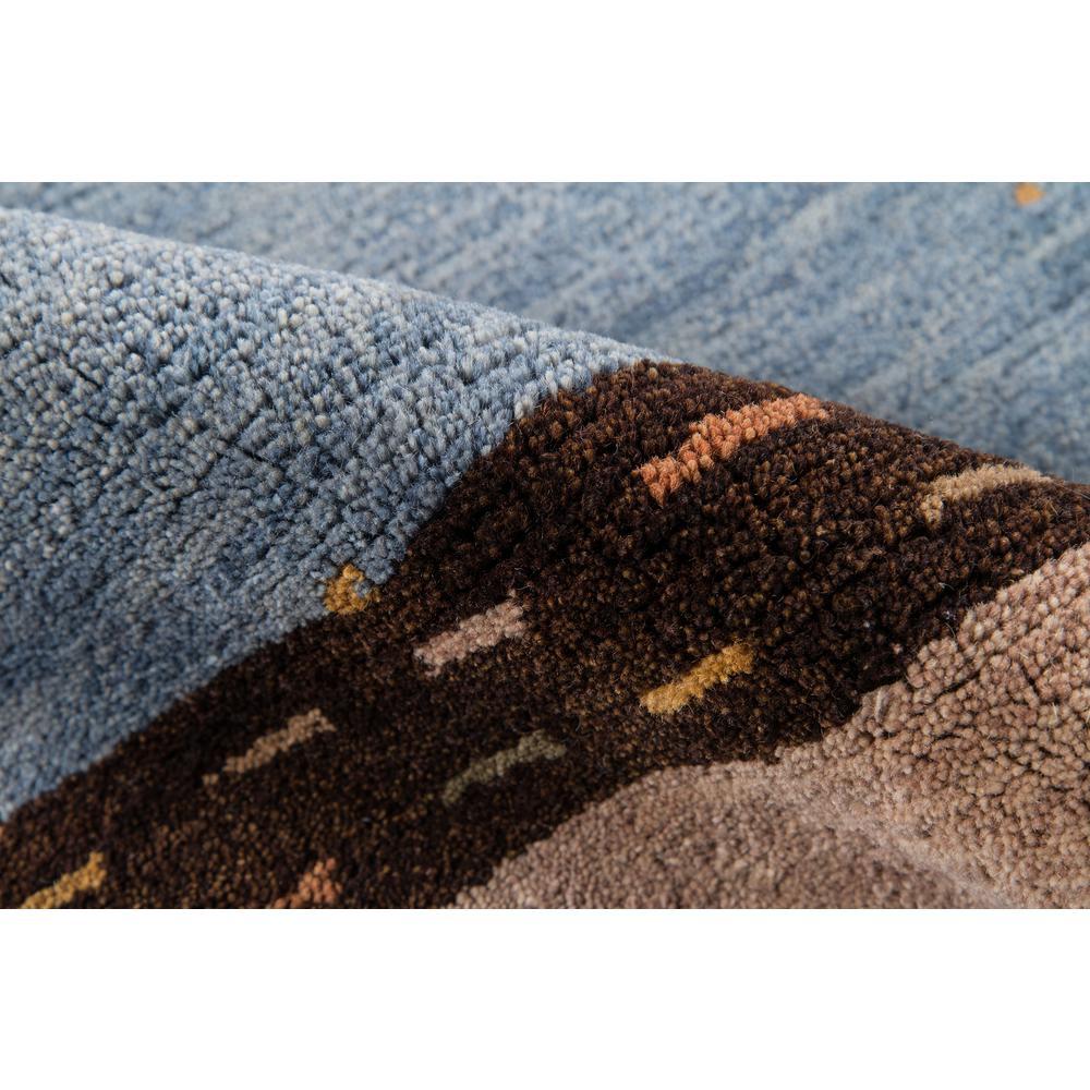 Desert Gabbeh Area Rug, Slate, 2' X 3'. Picture 4