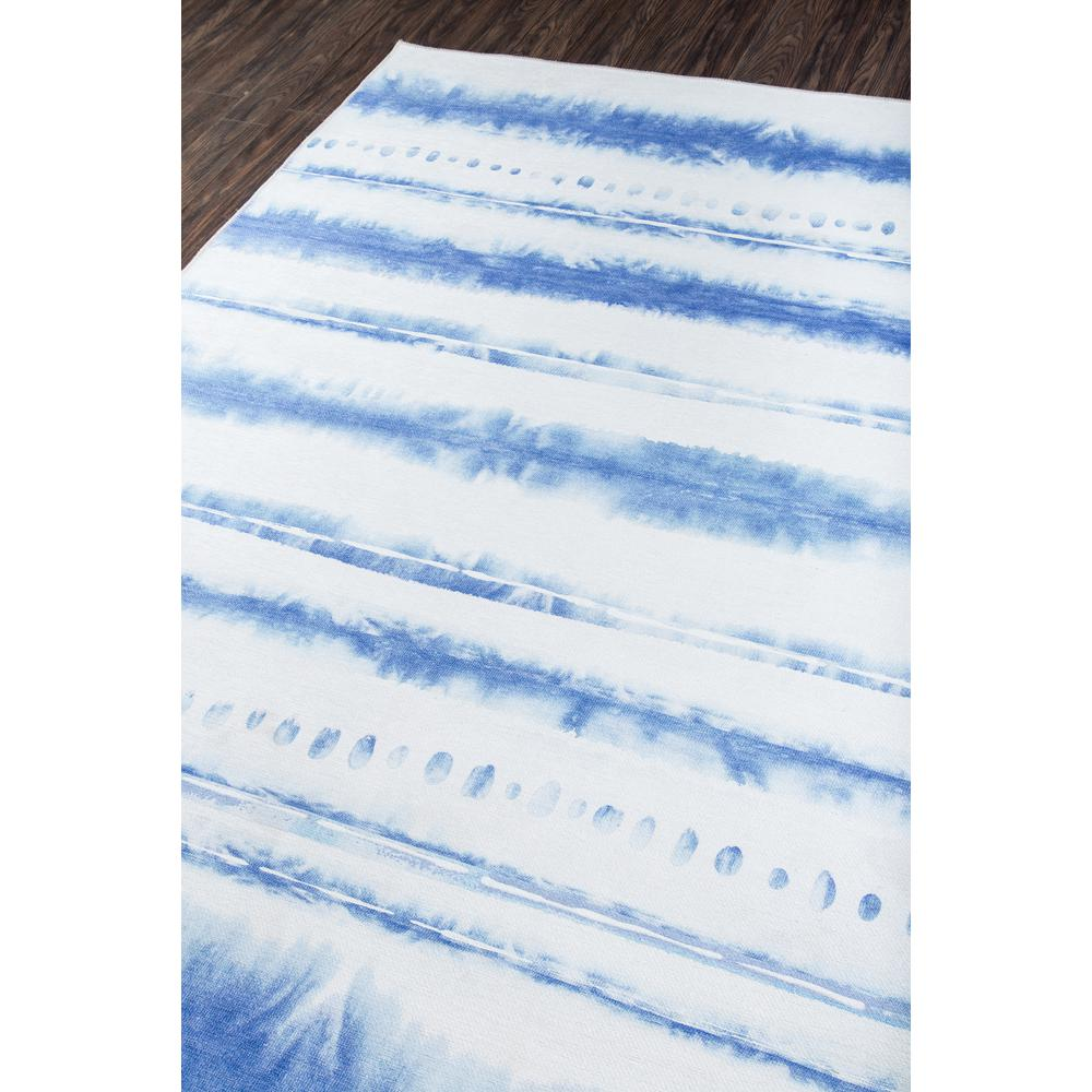 """District Area Rug, Blue, 3'3"""" X 5'. Picture 2"""