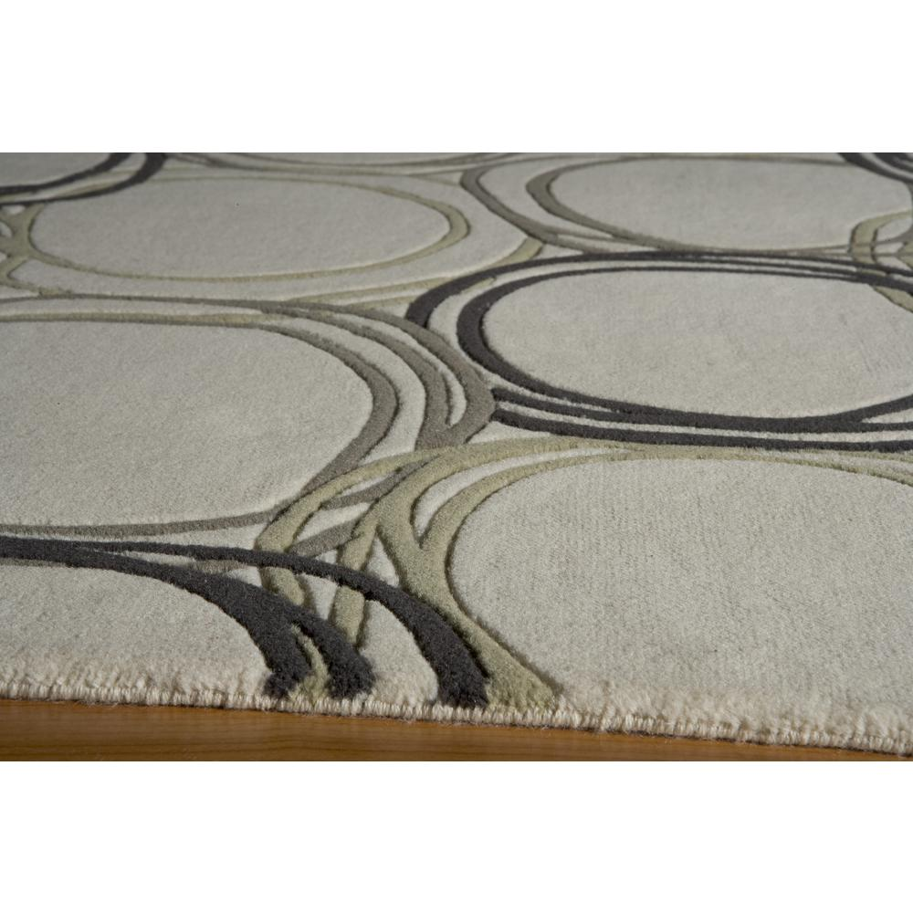 Elements Area Rug, Ivory, 2' X 3'. Picture 2