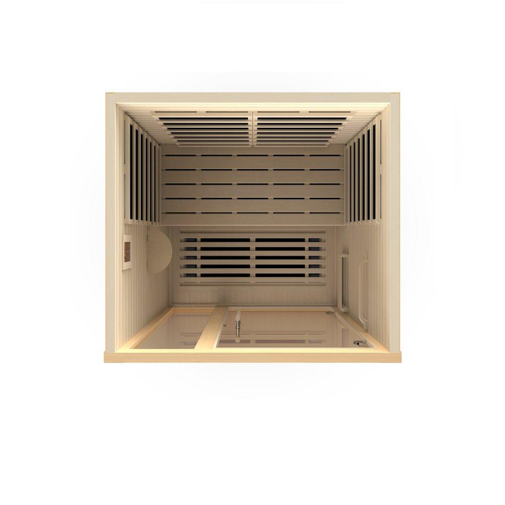 "Dynamic ""Amodora"" 2-person Low EMF Far Infrared Sauna. Picture 5"